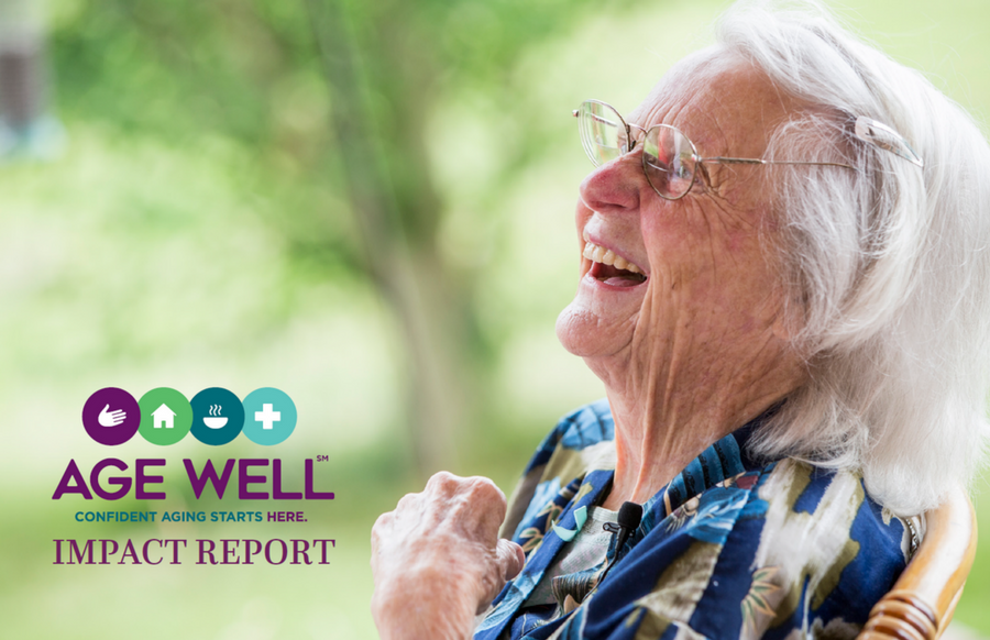 Age Well Impact Report Cover